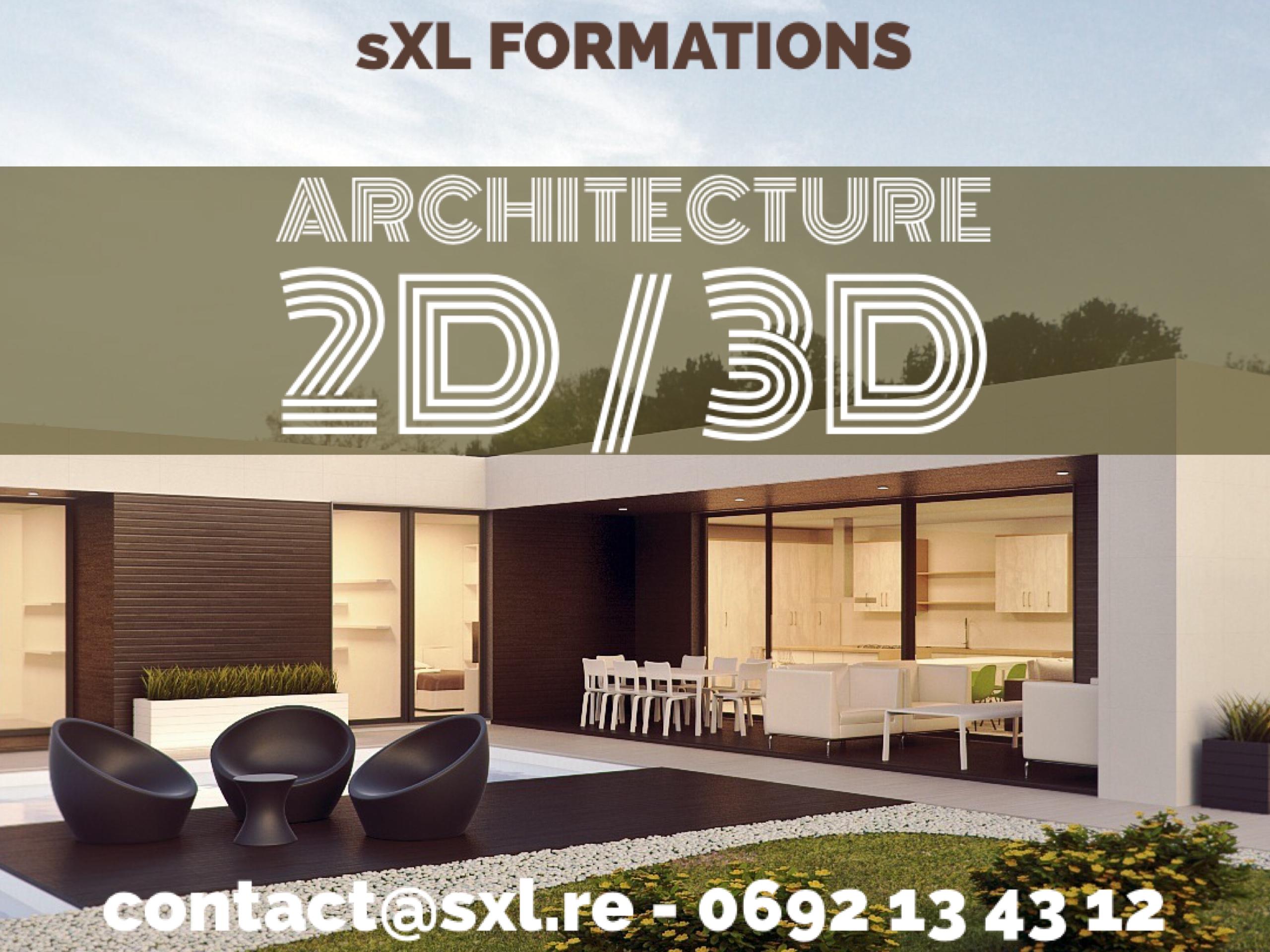 Image formation architecture Ile de La Réunion